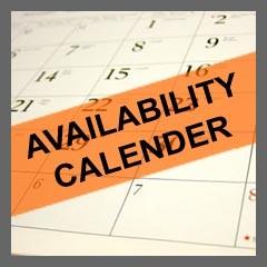 Availability Calender
